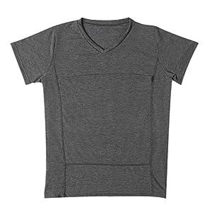 TENDYCOCO Männer Vater Känguru T-Shirt Baby Carrier Wrap Kurzarm lässig beruhigen T-Shirt
