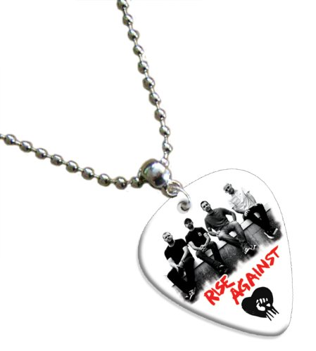 Rise Against Gitarre Pick Kette Band Plektron (Rise Bands Against)