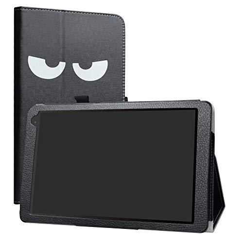 LiuShan Alcatel 1T 10inch hülle, Folding PU Leder Tasche Hülle Case mit Ständer für 10