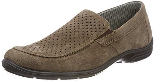 Jomos Herren Forum Slipper, Braun (Almond), 46 EU -