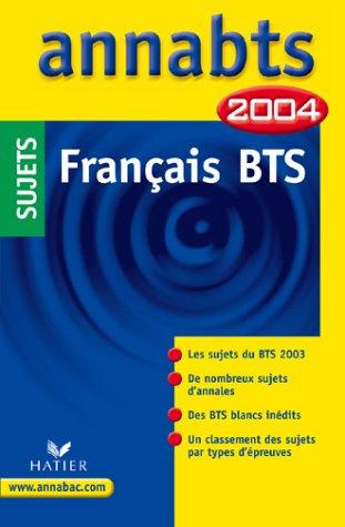 B.T.S. - Français