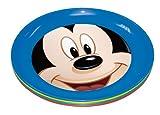 Stor Four Seasons - Set de 4 platos, diseño Mickey Mouse Club House Shapes & Numbers