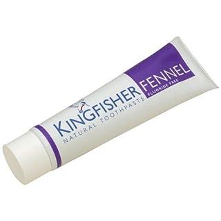 Kingfisher Fennel Toothpaste Fluoride Free 100ml