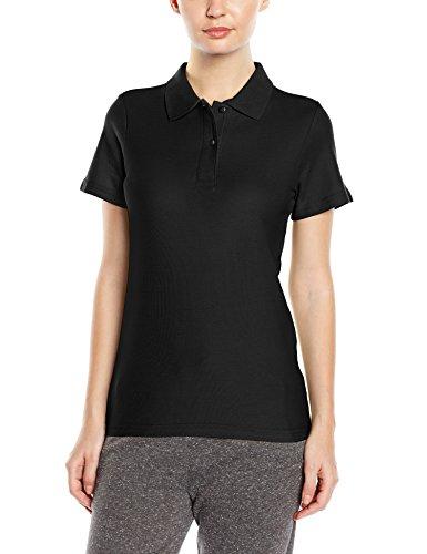 Stedman Apparel Polo ST3100t-shirt à manches courtes pour femme Coupe standar Noir - Black Opal