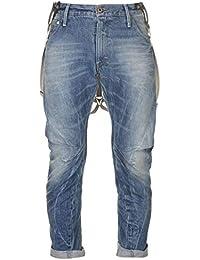 3575de66d0aaa9 G-STAR RAW Men's Arc 3d Ls Tp Br - Oligo Denim Suspenders