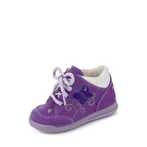 Superfit  MOPPY, Chaussures premiers pas pour bébé (fille) Bleu Bleu - lila kombi