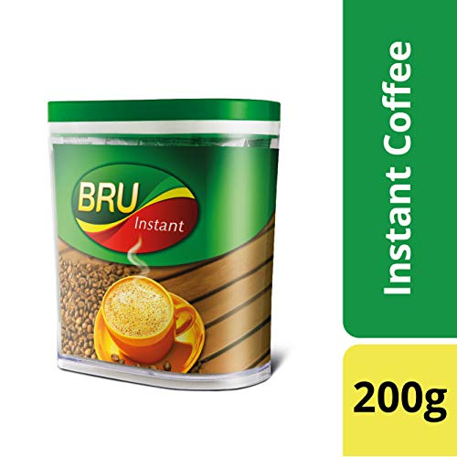 BRU Instant Coffee, 200g with Jar