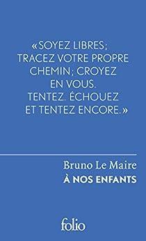À nos enfants (Folio Le Forum t. 6480)