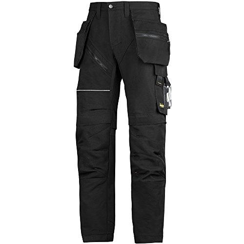 Preisvergleich Produktbild Snickers Workwear RuffWork Arbeitshose plus mit HP, 62020404052, 52, schwarz