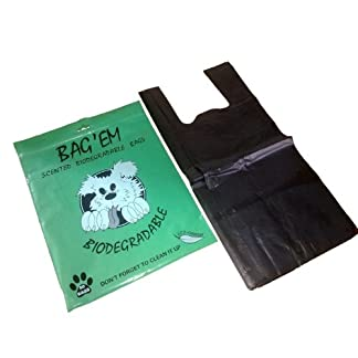 Bag Em Bio Poo Bags (Pack of 50) Bag Em Bio Poo Bags (Pack of 50) 4101ZyXftzL