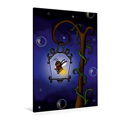 til-Leinwand 80 cm x 120 cm hoch, Glühwürmchen | Wandbild, Bild auf Keilrahmen, Fertigbild auf echter Leinwand, Leinwanddruck Kunst Kunst ()