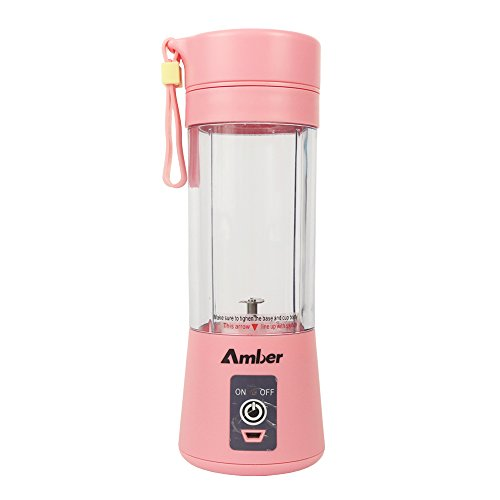 Kuty Portable Blender USB Juice Cup, 380ml 2000mAh Batterie Persönliche Größe Wiederaufladbare Standmixer, - Mixer-cup Power