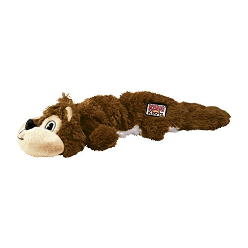 Kong Scrunch Knots Squirrel Dog Toy, Medium/Large by (English Manual) Preisvergleich