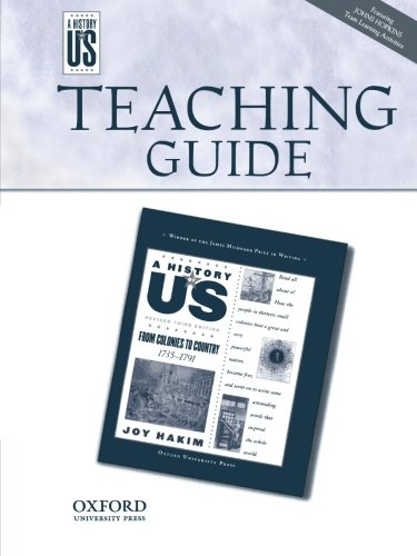 From Colonies to Country: Middle/High School Teaching Guide, a History of Us: Teaching Guide Pairs with a History of Us Book Three (History of US (Paperback))