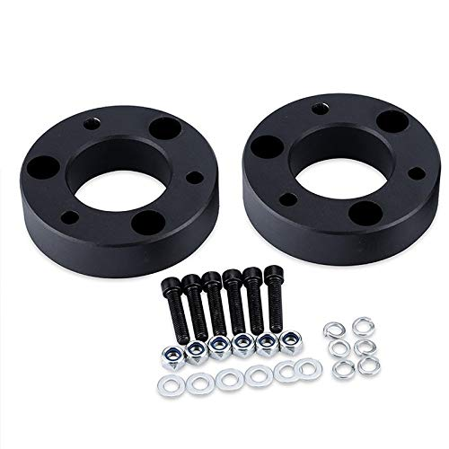 Geeignet for Chevrolet GMC 2 Zoll Nivellierlifting Kit Nivellierlifting langlebig 3 Zoll Hebesitz Auto Chassis schwarz Gummi Kit Body Heightening Pad Auto Teile Auto-Chassis-Kit ( Größe : 2.0INCH )