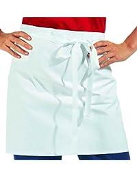 Leiber Vorbinder Größe 45x80 cm (HxB) Farbe weiß 100 % Baumwoll Köper ca.210g/m²