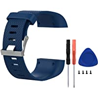 Replacement Pulsera para Fitbit Surge, Meiruo Correas para Fitbit Surge Smartwatch (S, Colour 3)