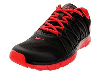 Nike Men's NIKE FREE TRAINER 3.0 TRAINING SHOES Black/Lt Crimson 9.5 D(M) US