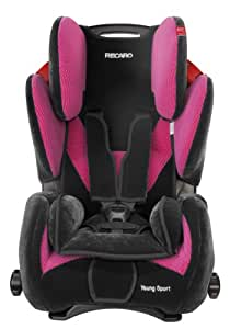 "Recaro 6202.21102.66 Young Sport Kindersitz Microfibre ""pink"""