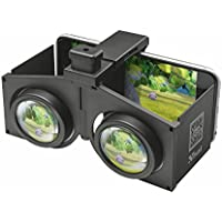 Trust Urban Pixi - Gafas de Realidad Virtual Plegables para Smartphone, Color Negro
