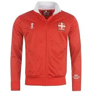 Veste de survetement équipe Suisse officiel coupe du monde football 2014 FIFA Brésil world cup