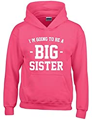 Direct 23 Ltd I'm Going To Be A Big Sister Girls Hoodie