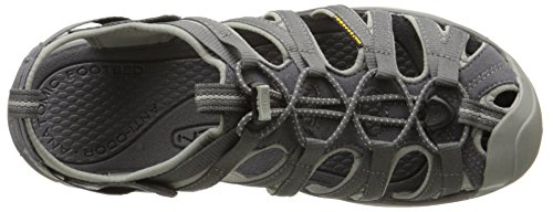 Keen - Whisper W-magnet/neutral Gray, Sandali Donna Grigio (Grau (MAGNET/NEUTRAL GRAY))