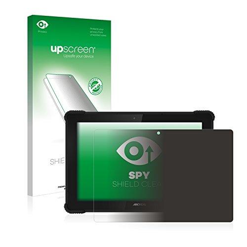 upscreen Anti-Spy Blickschutzfolie für Archos 101 Saphir Privacy Screen Bildschirmschutzfolie - Sichtschutz, Kratzfest