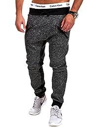 MT Styles Double-Zip sarouel pantalon de sport P-1863