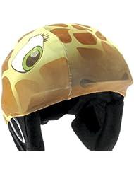 REDHOT Ski Helmcover Giraffe Lycra Covering, 3176