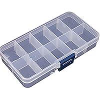 Leading de Star 10entradas Jewelry Adjustable Tool Box Case Craft Organizador Storage by Leading de Star