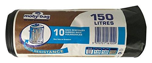 Francia 10 de dardos Paquete Bolsas Bins 150 L