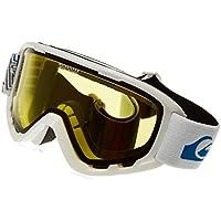 Quiksilver Sherpa BW Gafas de Snowboard, Hombre, Blanco (Snow), Talla Única