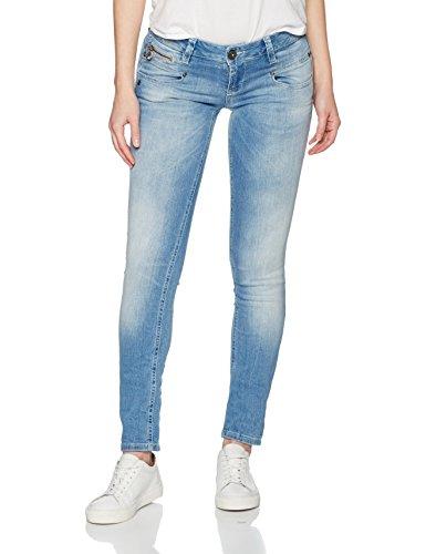Freeman T. Porter Alexa S-SDM, Jeans Slim Donna, Blau (Flexy Baby Blue F0620), XS (Taglia Produttore: XS)