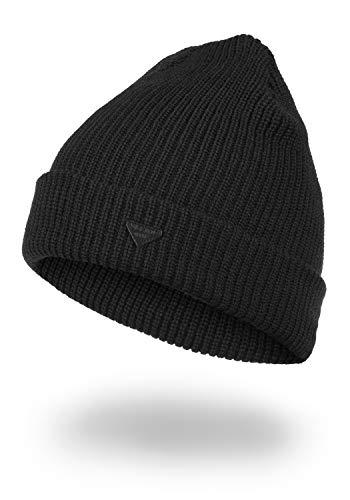 Blend Chuva Wintermütze Beanie Mütze Unisex, Größe:ONE SIZE, Farbe:Black (70155)