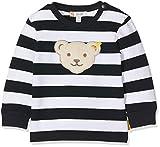 Steiff Baby - Jungen Sweatshirt L001912344, Gr. 86, Blau (Black Iris 3032)