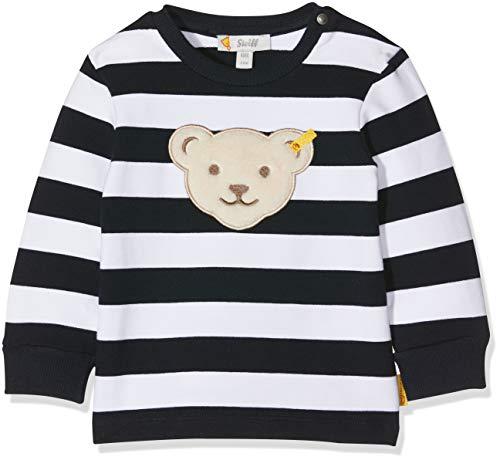 Steiff Baby - Jungen Sweatshirt L001912344, Gr. 68, Blau (Black Iris 3032)