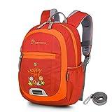 Mountaintop 4.5L Mini Backpack Kinder Kleinkind Rucksack mit Anti-verlorene Bügel,Brustgurt,Namensschild für Baby Kleinkinder, 24 x 31 x 9.5CM