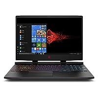 HP Omen 15-dc0012ne, Gaming Laptop, Intel Core i7-8750H, 15.6 Inch, 1TB HDD + 256GB SSD, 16GB RAM, NVIDIA GeForce GTX 1050 Ti (4 GB GDDR5), Win 10, Eng-Ara KB, Black