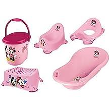 Windeleimer Disney Minni Maus rosa Baby Badewanne Wickelauflage