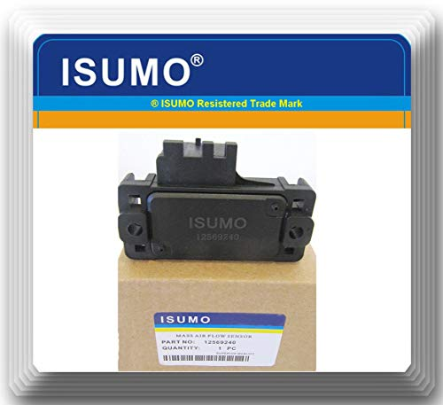 fgghfgrtgtg Black Nylon MAP Krümmerdrucksensor Ersatz für 12569240 Autozubehör (Impala Zubehör 2003)