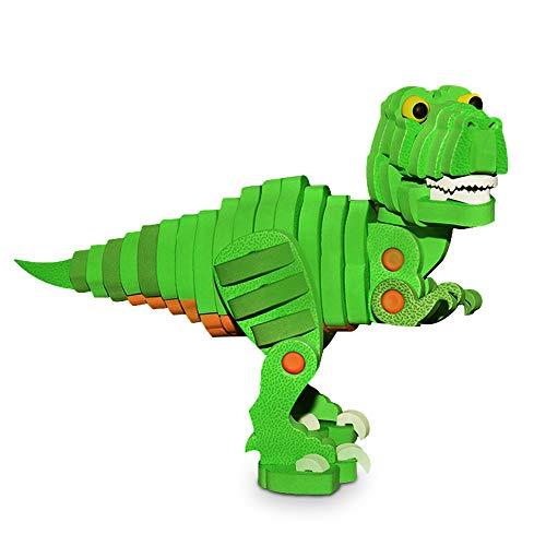 Teaisiy Geburtstags Geschenke für Jungen ab 2-10, Tyrannosaurus Dinosaurier Puzzles für Kinder Jungen 2-10 Jahre Lern Spielzeug für Jungen 2-10 Jahre Jungen Geschenke Jungen Kinder 3-12 Jahre