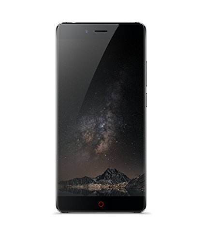 """Nubia Z11 - Smartphone de 5.5"""" (memoria interna de 64 GB, 4 GB de RAM, cámara de 16 MP, Android 6.0.1) color gris"""
