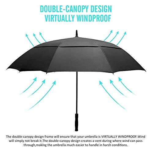 TRONMA Paraguas Automático Paraguas Automático Grande