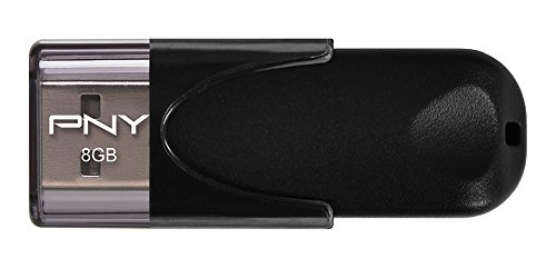 PNY Chiavetta Attaché 4 Standard, Memoria Portatile USB 2.0, 8GB, (Usb 2.0 Attache)