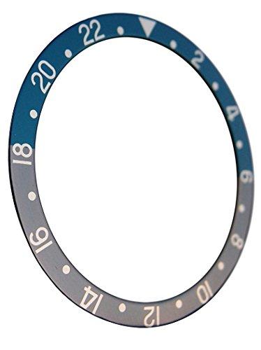 Bleu Gris Batman Couleur GMT Insert de Remplacement pour Scuba 6309-7040Robuste Style