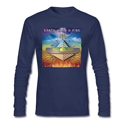 Uomo's Earth Wind & Fire Long Sleeve T-shirt