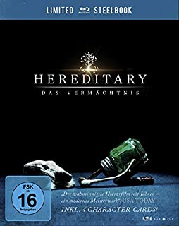 Hereditary - Das Vermächtnis. Limited Steelbook inkl. 4 Character Cards [Blu-ray]