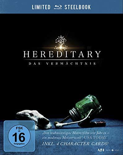Hereditary - Das Vermächtnis. Limited Steelbook inkl. 4 Character Cards [Blu-ray]
