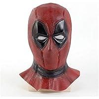 Máscara YN Muerta de película Marvel Sombrero de Cabeza Deadpool Cos de Halloween Accesorios de muñeca
